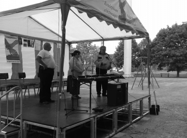 Hallható: Szeverényi Attiláné, Dr. Polyák Zsolt, Dr. Balogh Endre