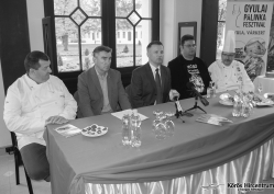 Hallható: Bora Imre, Dr. Görgényi Ernő, Prohászka Béla, Fabulya Attila, Balogh László