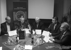 Hallható: Dr. Orosz Tivadar, Dr. Rákóczi Attila, Török György
