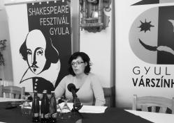 Varga Marianna, a Gyulai Várszínház ügyvezetője