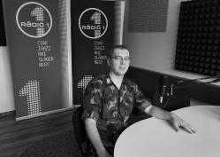 Lipták József őrnagy, a Békés Megyei Toborzó Iroda irodavezetője