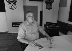 Kesjár Mátyás, a Csabaszabadiért Polgárőr Egyesület elnöke