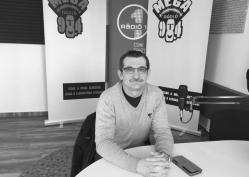 Trényi Péter, a Magyar Szablyavívó Iskola békéscsabai tagiskolájának vezetője