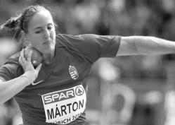 Márton Anita, a Kopp Békéscsabai Atlétikai Klub versenyzője