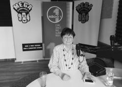 Szabó Zsuzsa, a Mezőhegyesi Nemzetközi Fogathajtó verseny szervezőbizottságának tagja