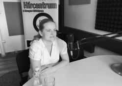 Hegedűsné Farkas Lilla, az Aki nem lép egyszerre program koordinátora