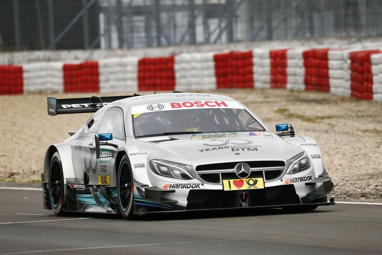 Mick Schumacher vezethette a demo DTM Mercit