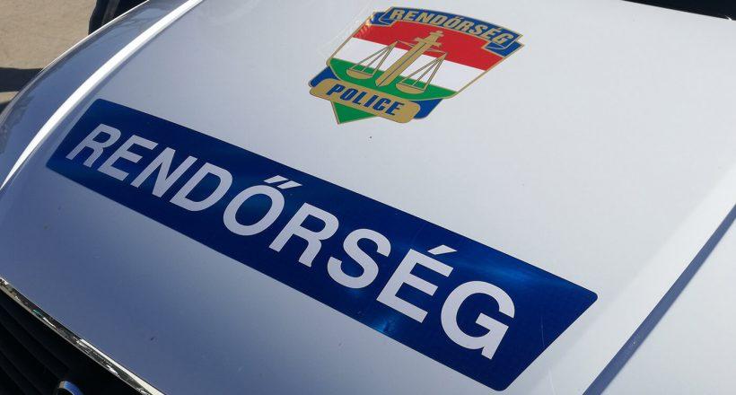 rendőrség, baleset, police