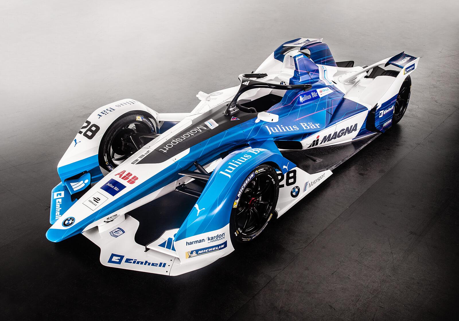 Bemutatkozott a BMW Formula E autója