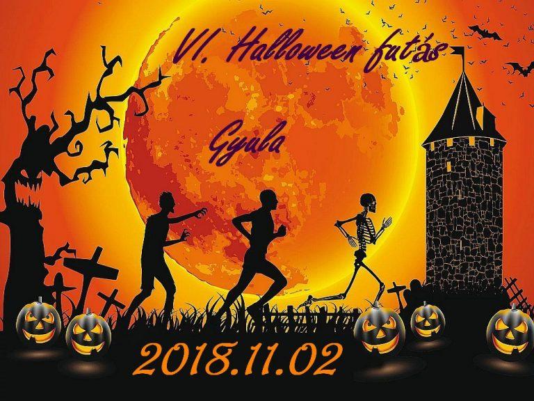 2018. november 2. – Halloween futás új helyszínen