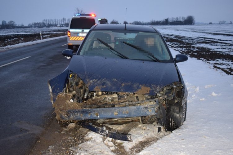 Közlekedési baleset Orosházán, egyedi azonosító jellel visszaélés gyanúja Békéscsabán