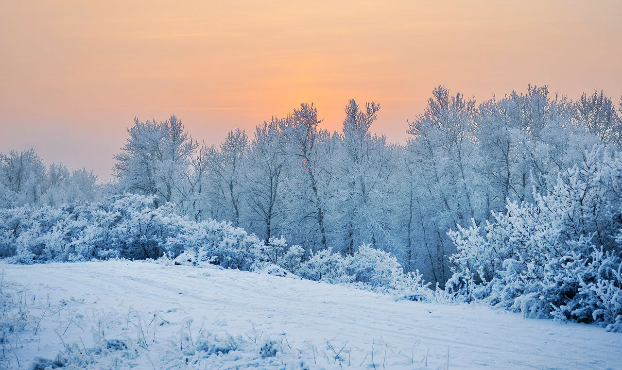Kemény hajnali fagyok jönnek a derültebb, havas tájakra